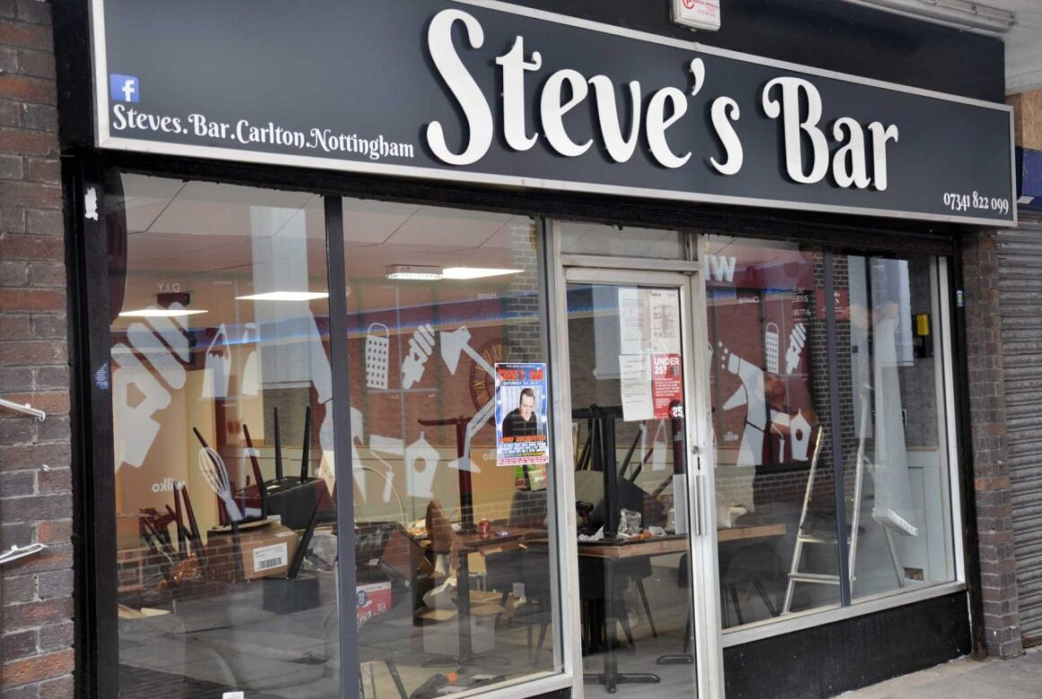 Steve's Bar  now  SOLD OUT
